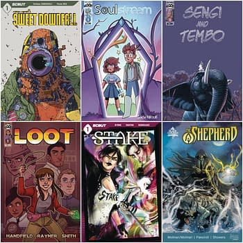 Scout Comics Launches Six Comics in January, 2021 Three For $1.99