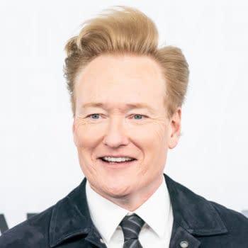 Conan O'Brien attends WarnerMedia Upfront 2019 arrivals outside of The Theater at Madison Square Garden. Editorial credit: lev radin / Shutterstock.com