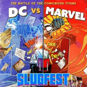 Poster For DC Vs Marvel Slugfest, From Russo Brothers For Quibi
