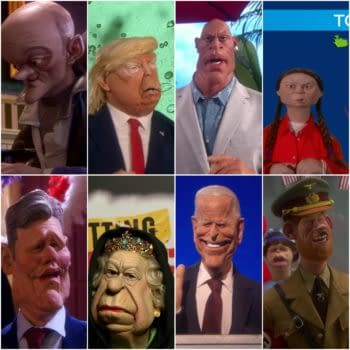 All Spitting Image S01E01 Puppets From The Queen to Joe Biden to Greta