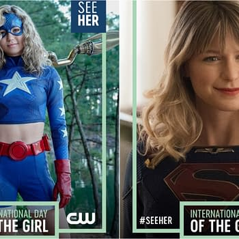 Supergirl Stargirl: CW #SeeHer Offer Intl Day of the Girl Honors