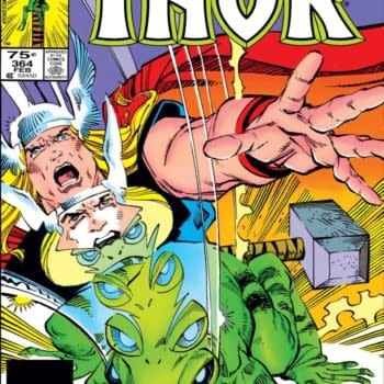 Donny Cates' Throg, Frog Of Thunder Tweet Sees Thor #384 Sell On eBay