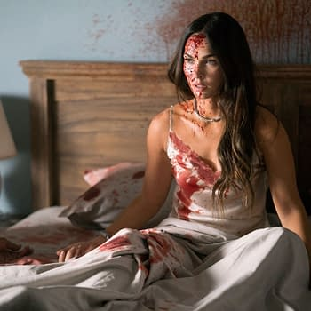 Till Death Photos Reveals a Bloodied Megan Fox Fighting for Her Life