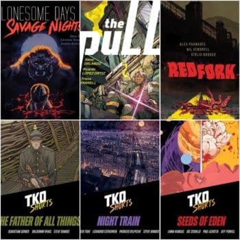 TKO's New Comics For Novembe