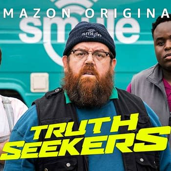 Truth Seekers: Amazon Prime Cancels Nick Frost Simon Pegg Series