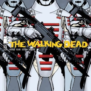 The Walking Dead posted a comic book-related teaser (Image: Skybound)