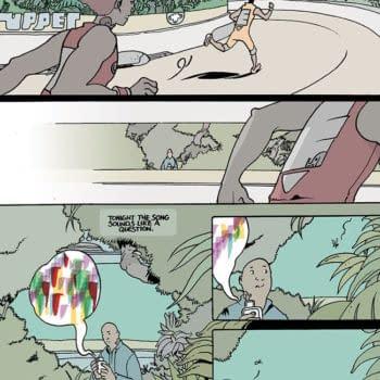 Brandon Graham Returns to Image Comics With Rain Like Hammers