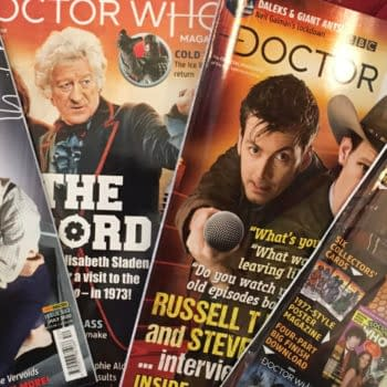 Doctor Who Magazine Finally Arrives In The USA - FIve Of Them