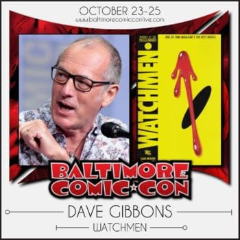 Tom King Interviews Dave Gibbons Live at Baltimore Comic Con Online