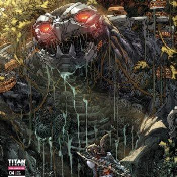 Horizon Zero Dawn Forbidden West New Machine Revealed On Comics Cover