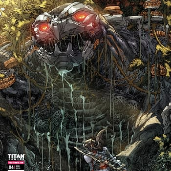 Horizon Forbidden West New Machine Revealed On Comics Cover