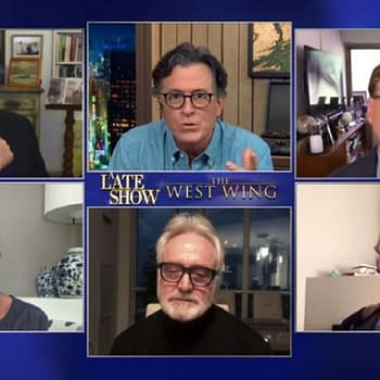 The West Wing Visits Late Show: Trump Fav Eps &#038 Colbert Goes Sorkin