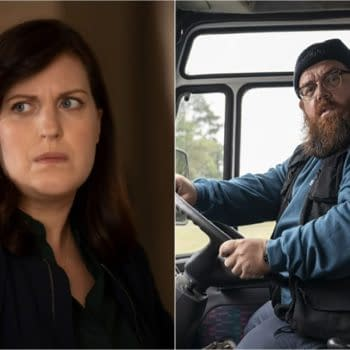 Why Women Kill returns to CBS All Access with Allison Tolman and Nick Frost (Image: CBS All Access)
