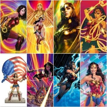 Jim Lee, Frank Cho, Artgerm, Wonder Woman 1984 Variant Covers From DC