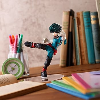 My Hero Academia Izuku Midoriya Trains with Good Smile Company