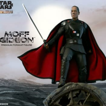 The Mandalorian Moff Gideon Statue Coming Soon from Sideshow