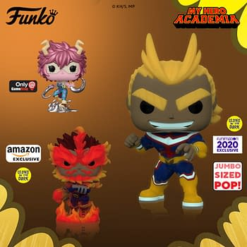 My Hero Academia Gets Heroic In New Wave of Funko Pops