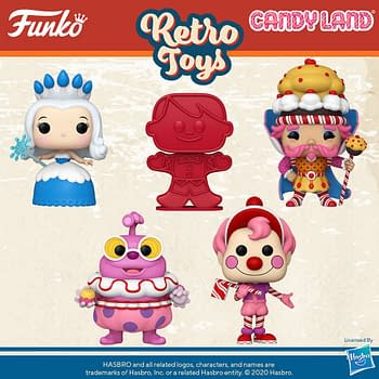 Funko Takes Us to Candy Land with New Wave of Pop Vinyls