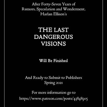 The Last Dangerous Visions: JMS Prepares Lost Harlan Ellison Book