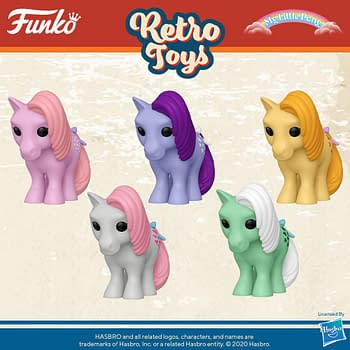 Funko Officially Unveils My Little Pony Pops With Scented Variant