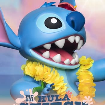 Hula Stitch Is Here With New Lilo &#038 Stitch Statue From Beast Kingdom