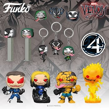 Venomized Fantastic Four Rise on Black Friday From Funko