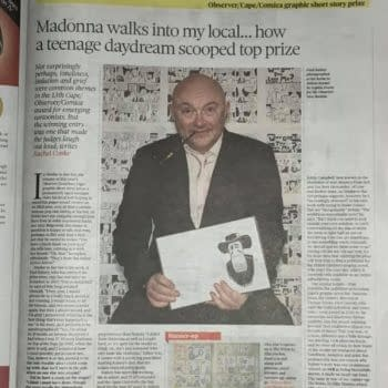 Paul B Rainey Wins Observer Jonathan Cape Prize About Meeting Madonna