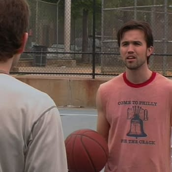 Its Always Sunny in Philadelphia: Some Sixers Love for Rob McElhenney