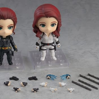 Black Widow Goes Deluxe With New Nendoroid Set From Good Smile