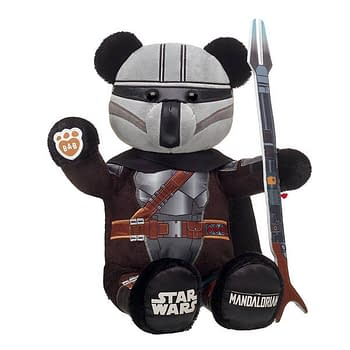 The Mandalorian and The Child with Pram Land at Build a Bear