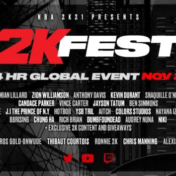 2K Games Announces Online Cultural Basketball Event With 2KFest