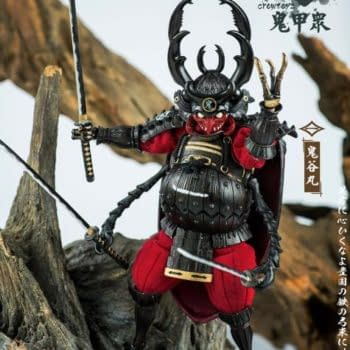 Samurai Beetles Rise from The Grass from Crowtoys