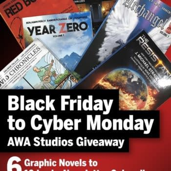 AWA Upshot Studios Offers Thanksgiving Graphic Novel Giveaway