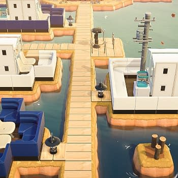 Someone Turned Their Animal Crossing: New Horizons Island Into A Dock