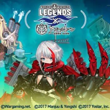 Azur Lane Returns To World of Warships: Legends