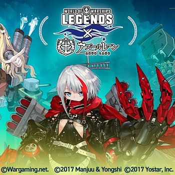 Azur Lane Returns To World Of Warships: Legends