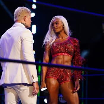 Jade Cargill debuts on AEW Dynamite (Photo: All Elite Wrestling)