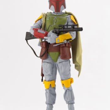 """Boba Fett Goes Vintage With Limited Bait x Kotobukiya Statue  Boba Fett is back and is returning to his retro design with the newest limited edition Bait collaboration statue  #BAIT and #Kotobukiya team up to give #BobaFett an exclusive 500 piece #StarWars statue  Star Wars, boba fett, kotobukiya, bait  """"A bounty hunter like no other Boba Fett has seen and experienced it all, from the cloning facilities on Kamino, the asteroid fields of Hoth, to the endless sand dunes of Tatooine. Immortalized from his appearance in Star Wars: The Empires Strikes Back, Boba Fett is rendered in a unique vintage paint scheme, harkening back to the original 80's action figure release. At 1:10 scale (roughly 7.5 inches tall on the included base) Boba Fett stands at the ready cradling his EE-3 carbine rifle. Details from his outfit have been painstakingly recreated including his Mandalorian armor, Wookie trophy braids and Z-6 jetpack.""""  """"As part of Kotobukiya's long-standing Star Wars ARTFX+ series you can expect easy, snap-fit construction, precision paint applications and a magnetized display stand for effortless display options. This BAIT exclusive is a one-time production limited to only 500 pieces for North America. Make sure to set your sights early on obtaining this one before it slips away for good!"""""""