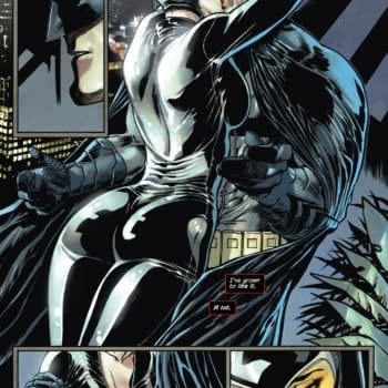 Batman and Catwoman do the hibbity-dibbity during the Nu52.