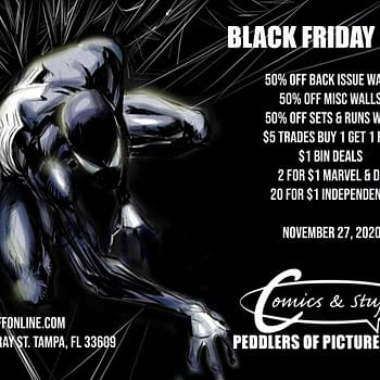 Black Friday Sales From 35 Comic Book Stores From Tomorrow