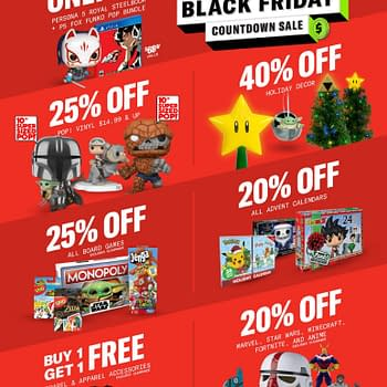 Gamestop Black Friday Countdown Sales Event Begins November 19