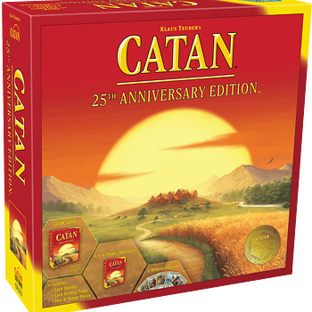 CATAN 25th Anniversary Edition Released For The Holidays