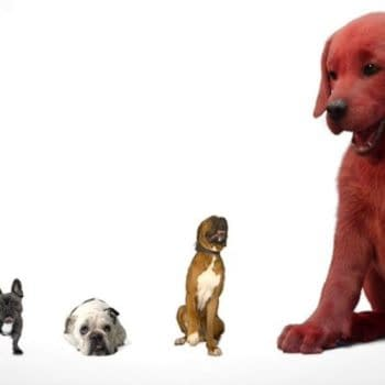 First Look at Clifford The Big Red Dog, Opens November 2021