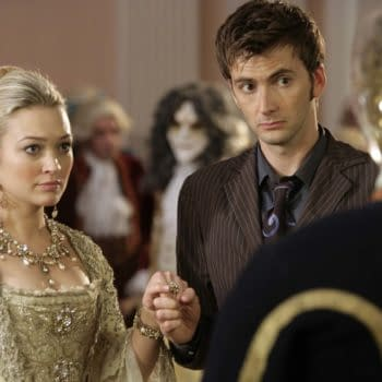 """Still from """"Doctor Who: The Girl in the Fireplace"""", BBC Studios"""