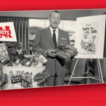 Disney Teams With Toys For Tots For Donations This Holiday Season