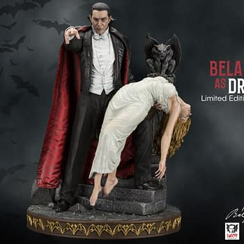Dracula Lives Once Again with Infinite Statues Bela Lugosi Tribute