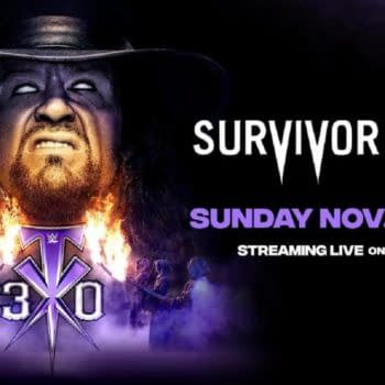 WWE Survivor Series ket art for Sunday night's PPV (Image: WWE)