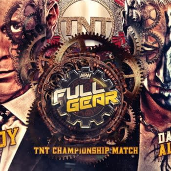 AEW Full Gear key art for the PPV's matches (Image: AEW).