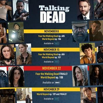 Fear TWD Season 6 Breaks Early 2-Hour TWD World Beyond Season Finale