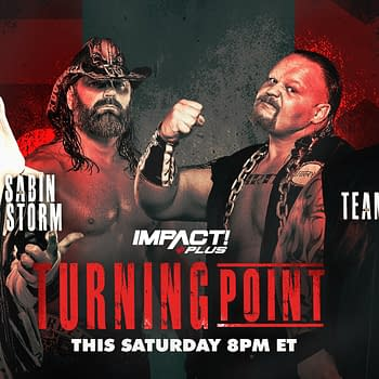 Impact Turning Point Results &#8211 James Storm and Chris Sabin vs. XXXL